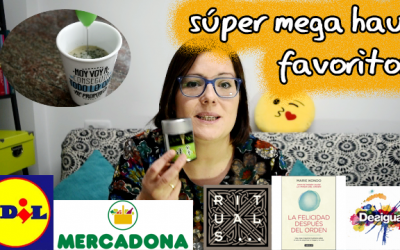 Haul favoritos 2017 -Mercadona, Lidl, libros…