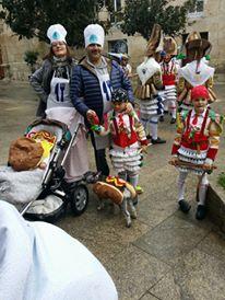 Disfraz de carnaval para toda la familia