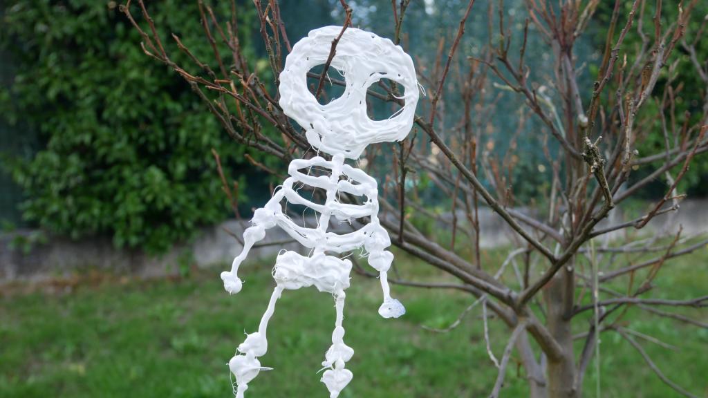 Esqueletos y calaveras para halloween