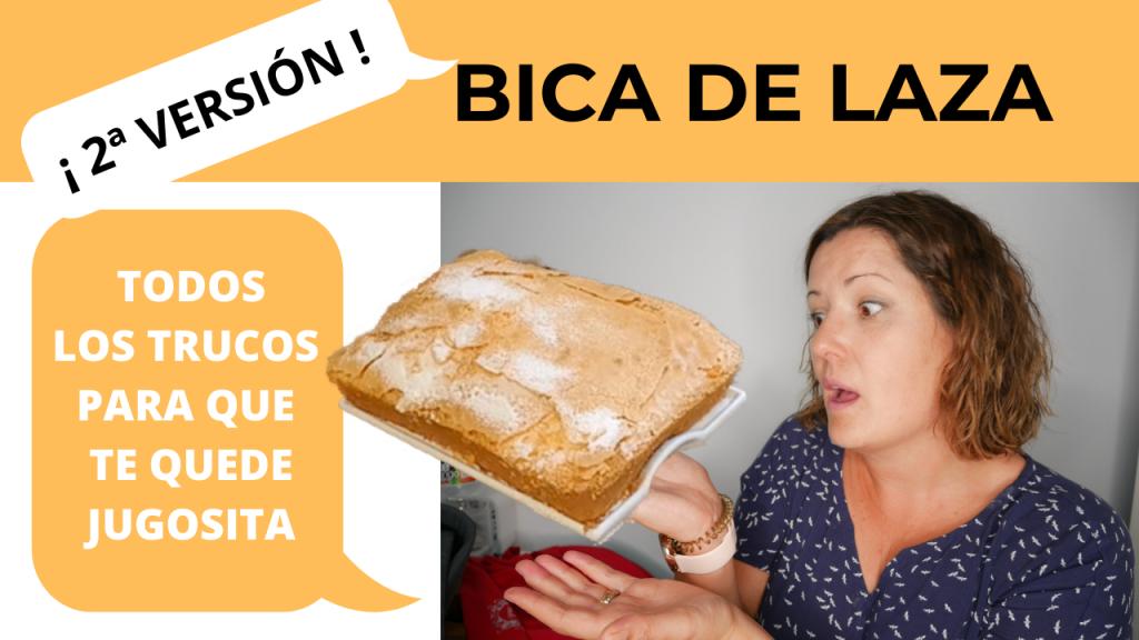 Cómo hacer bica de Laza casera RICA RICA