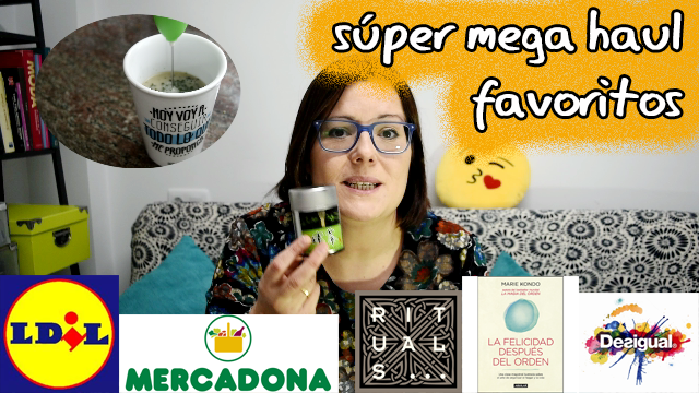 Haul favoritos 2017 -Mercadona, Lidl, libros…