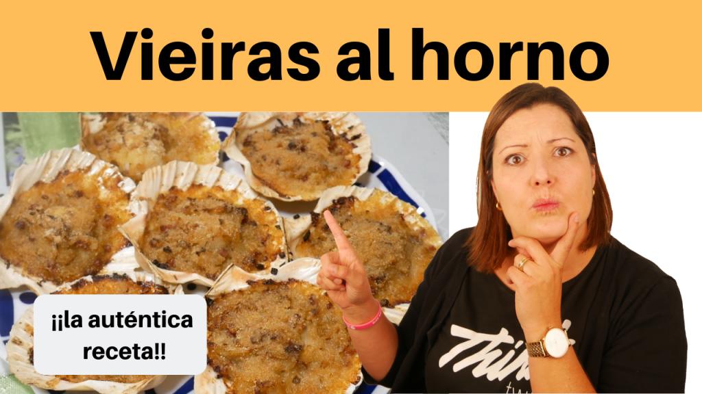 Cómo hacer vieiras gratinadas paso a paso DE TOMA PAN Y MOJA!!