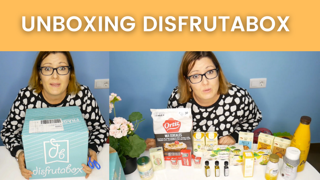 Unboxing Disfrutabox