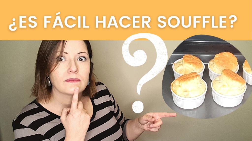 Cómo hacer SOUFFLE para que quede PERFECTO!  De queso 🧀 y de lo que tú quieras. 👌🌟 ¡MUY FÁCIL!
