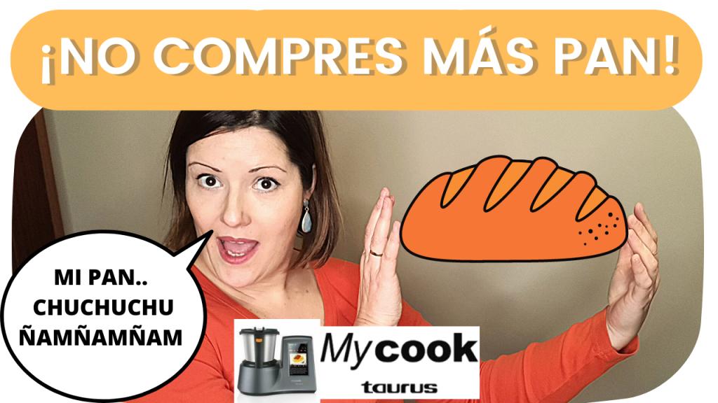 👉Tú ELIGES: ¿COCINA MANUAL O GUIADA? 2 Recetas de pan en mycook. 🍞